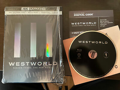 Westworld Season 3 The New World  4K Digital Code