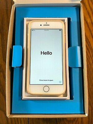 Apple iPhone 8 - 64GB - Silver Unlocked - with case and box