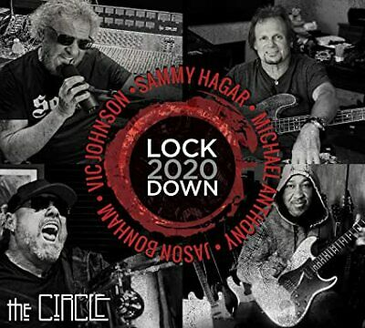 Lockdown 2020 by Sammy Hagar - the Circle Brand New Free and Fast Shipping