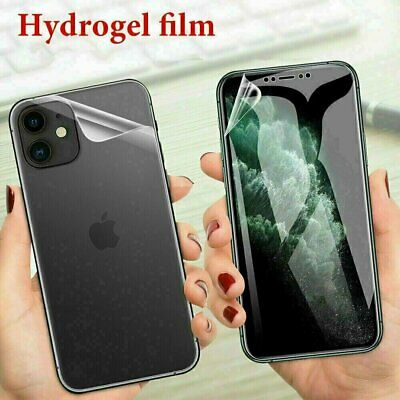 2pcs Front-Back Hydrogel Screen Protector Film For iPhone 12 Pro Max Mini