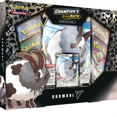 Pokémon TCG Champions Path Dubwool V Collection Booster Box