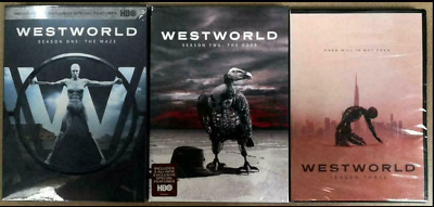 Westworld Complete Seasons 1-3 DVD 2020 9 Disc Set Region 1 HOT