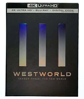Westworld Season 3 - The New World 4K UHDBlu-ray No Digital