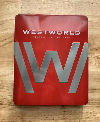 Westworld Complete First Season One 1 4K UHD Blu-ray 2017 6 Disc No Digital