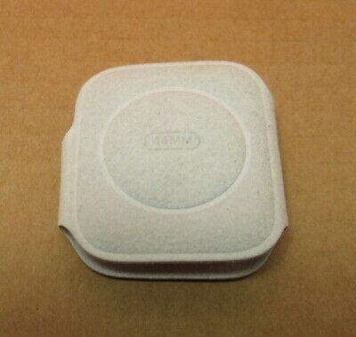 Apple Watch Coozie Protective Sleeve Felt OEM Original From Box - Silver - 44mm