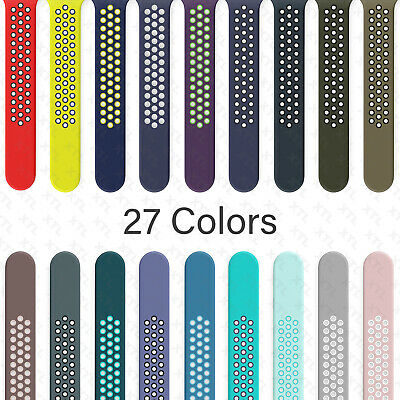 Silicone Band Strap Apple Watch Nike- Sport Series 7 6 5 4 3 2 1 SE 38404244