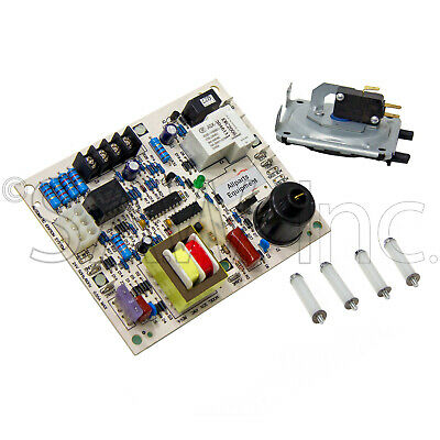 60105 Control Board with 60147 -28 WC Pressure Switch for Mr Heater Furnaces