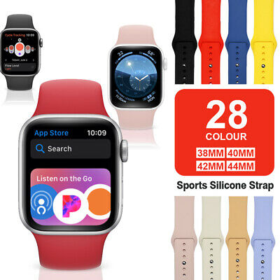 Band Strap for Apple Watch Sports Series 6 5 4 3 2 1 SE 38404244mm