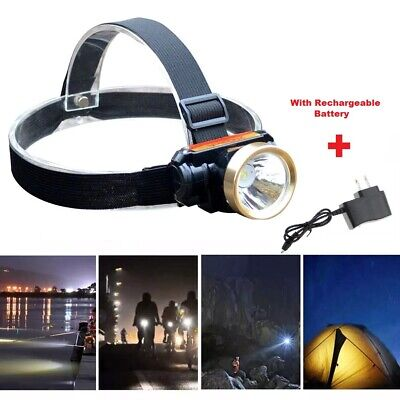 5000LM LED Rechargeable Waterproof Headlight Head Lamp - Charger US