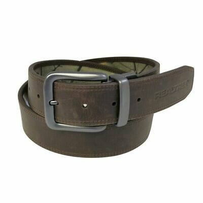 Realtree Reversible Belt Reverses to Brown Size S 3032 - 100 Leather