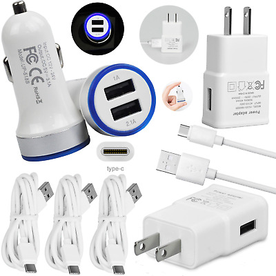 Home Travel Car Wall Charger USB Type-C Cord For Moto razr2020 edge- Z4 one 5G