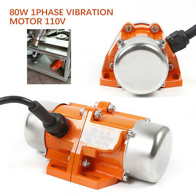 AC Vibration Motor Single Phase Vibrating Machine Mining Metallurgy Vibrator USA