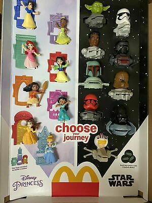2021 McDONALDS Disneys Princess or Star Wars HAPPY MEAL TOYS Or Set