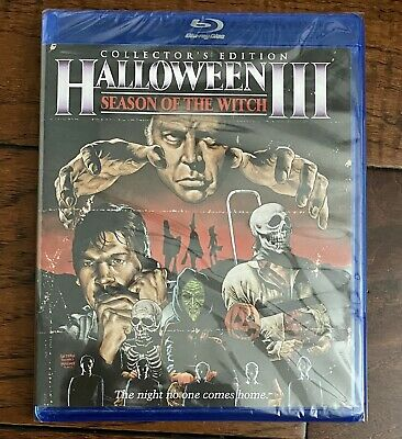 Halloween 3 Season of the Witch Scream Factory Collectors Blu-ray Disc 2012