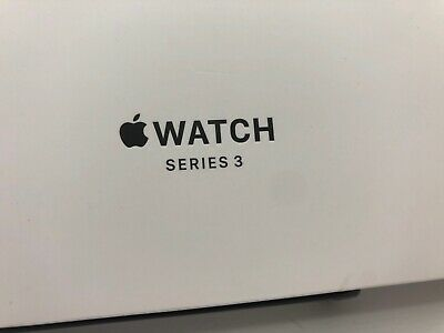 Apple iWatch Series 3 Empty white BOX 38mm Case no paperwork BOX ONLY