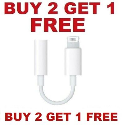 For Apple iPhone Headphone Adapter Jack 3-5mm Aux Cord Dongle