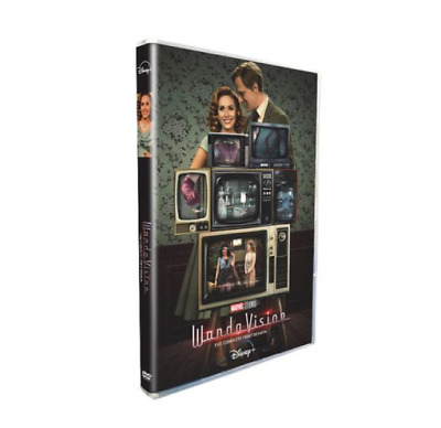 WandaVision 1 3-Disc DVD Set Brand New FREE SHIP