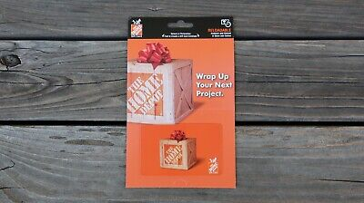 The Home Depot Gift Card 100 One Hundred Dollar Value Brand New Free Shipping
