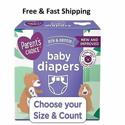 Parents Choice Disposable Diapers Baby Diapers Size Newborn 1234567