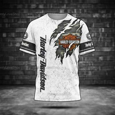 New T-Shirt Harley Davidson Fathers Day Gifts