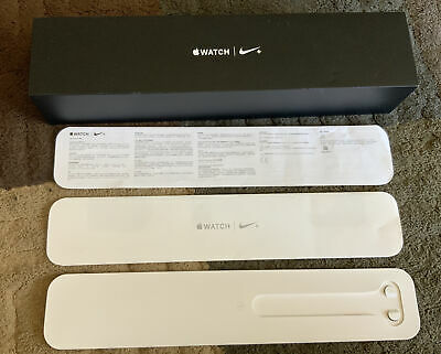 Apple Watch Series 2 Nike- 42mm A1758 BOX ONLY with Paperwork NO WATCH 🔥