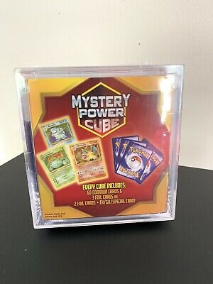 Pokemon Mystery Power Cube Sealed Pack of 60 Cards