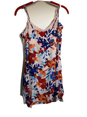 Brand New With Tags PARKER Peach Blossom Floral Lined Dress Size S