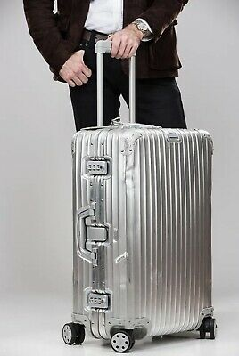Rimowa Topas 29-Inch Multiwheel Aluminum Large Check-In Suitcase 9237000402