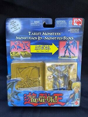Mattel Yu-Gi-Oh Tablet Monsters Lord of Red Figure NRFB 2004