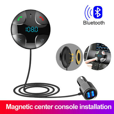 Bluetooth Wireless FM Transmitter Car Charger for Samsung Galaxy S21-5G Ultra