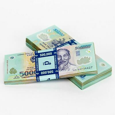 Purchase 1000000 VND  Vietnamese Dong  One Million Vietnam Currency - Money