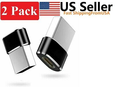 2 PACK USB C 3-1 Type C Female to USB 3-0 Type A Male Port Converter Adapter NEW