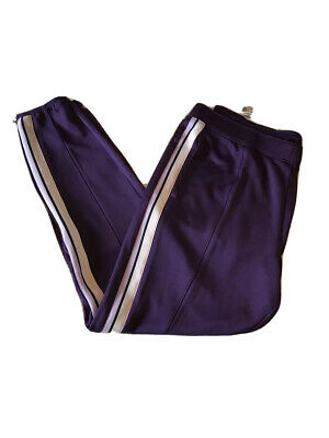 New With Tags Umbro Womens Crown Jewel Athletic Workout Pants Purple Size XL