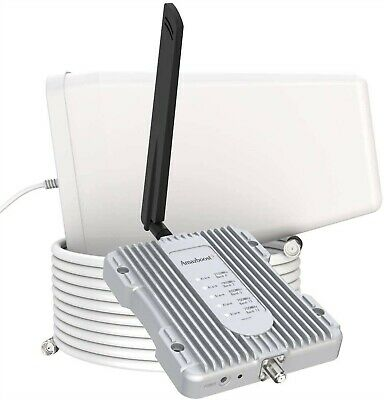 Amazboost A1 Cell Phone Booster for Home -Up to 2500 sq ft