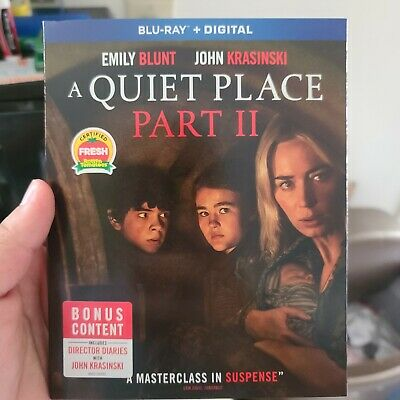 A Quiet Place Part II Blu-ray 2020 W Slip Cover NO DIGITAL CODE
