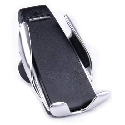 Automatic Clamp Wireless Car Charger Smart Phone Mount Infrared Auto-sensing id