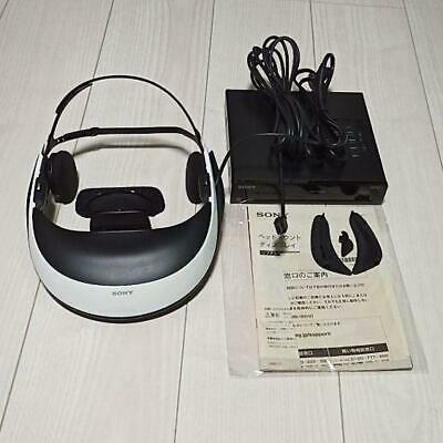 Sony Active 3D Glasses Compatible Head Mounted Display HMZ-T1 USED JP