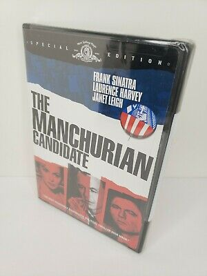 The Manchurian Candidate DVD Widescreen Special Edition 2004 Frank Sinatra NEW
