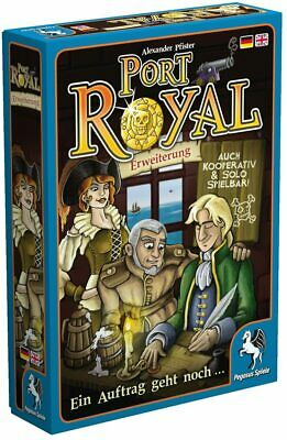 Pegasus Spiele 18141G Port Royal Just One More Contract Expansion Card Game