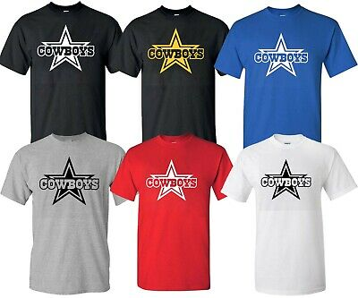 Dallas Cowboys Brand Star new t shirt collection S-4XL