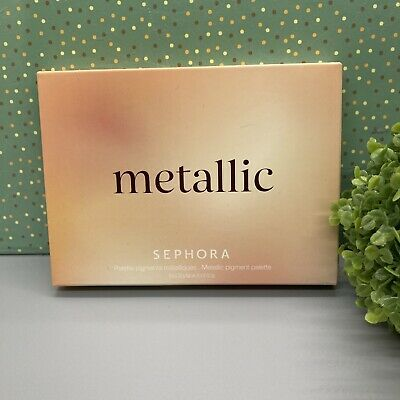 SEPHORA METALLIC PIGMENTS PALETTE - 6 METALLIC SHADES FOR EYES AND FACE SEALED