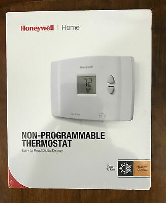 Honeywell Basic Non-Programmable Thermostat RTH111B New and Sealed-
