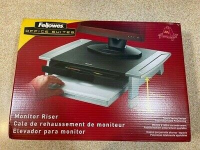 Fellowes Monitor Riser Adjustable Height CRC 80311