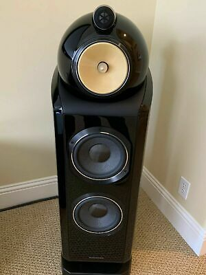 Bowers - Wilkins 802D Loudspeakers Diamond - Impeccable - All Orig- Boxes Inc