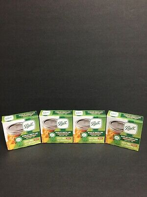 Ball Regular Mouth Canning Lids- 4 Boxes Of 12 48 Lids Total Brand New Sealed