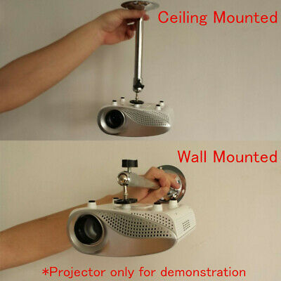 Mini DLP Projector Bracket Ceiling Mount Wall Holder for Mini Hanger Stand US