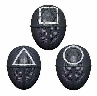 Squid Game Cosplay Mask Square Circle Triangle Squid Game Masks Full Face USA