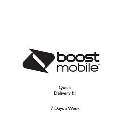 BOOST Mobile Port Numbers  ANY Area Code  Quickest Delivery