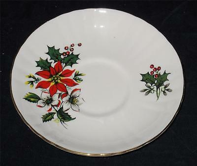 Royal Grafton - Poinsettia - Saucer Only