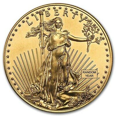 Random Year 1 oz Gold American Eagle BU - SKU 84672